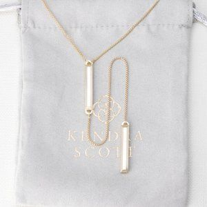 Kendra Scott Shelton Necklace In Gold